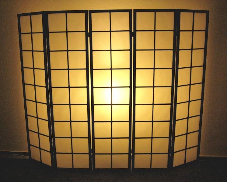 paravent sho raumteiler paravent lampe paravent. Black Bedroom Furniture Sets. Home Design Ideas