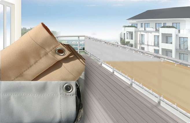 balkonverkleidung umrandung sichtschutz f r balkon und terrasse versch gr en ebay. Black Bedroom Furniture Sets. Home Design Ideas