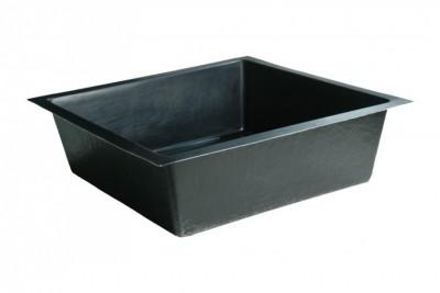 stabiles teichbecken profi wanne fiberglas gfk 120 x 80. Black Bedroom Furniture Sets. Home Design Ideas