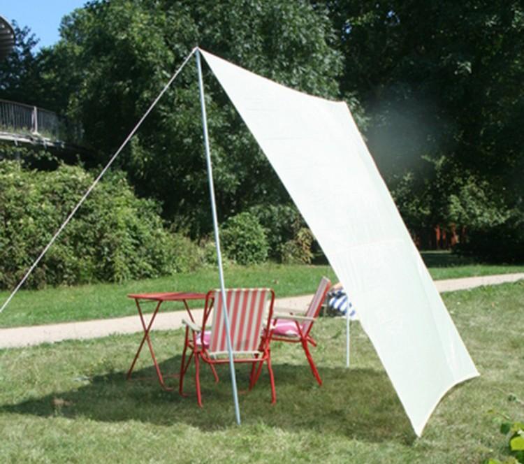 viereck sonnensegel f r freizeit und camping 2 50 x 3 00 m. Black Bedroom Furniture Sets. Home Design Ideas