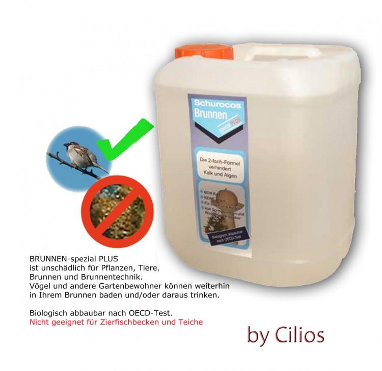 Brunnen Spezial PLUS 5,0 L: Kalk- und algenfreies Wasser ...