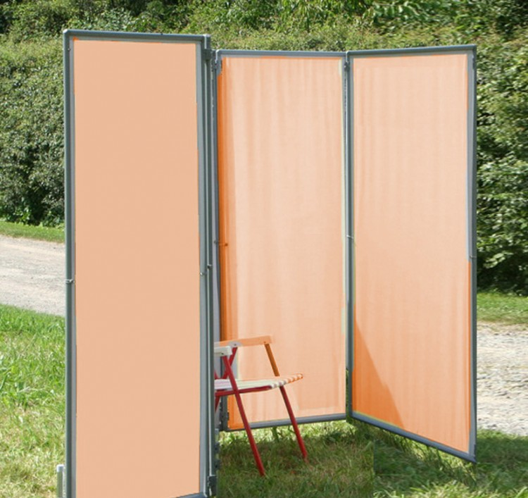 in und outdoor paravent flexi 4 sichtschutz f r garten terrasse und balkon ebay. Black Bedroom Furniture Sets. Home Design Ideas