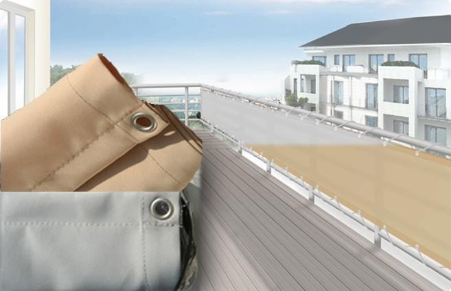 balkonverkleidung umrandung sichtschutz f r balkon und terrasse in versch farben und gr en. Black Bedroom Furniture Sets. Home Design Ideas