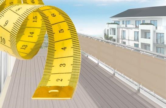 balkon sichtschutz holz nach mas: fotostrecke immer passend balkon, Moderne