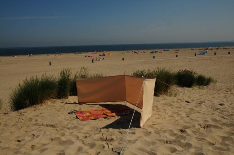 mobiler windschutz 90 x 300 cm farbe sisal stabiler sichtschutz windschutz f r camping. Black Bedroom Furniture Sets. Home Design Ideas