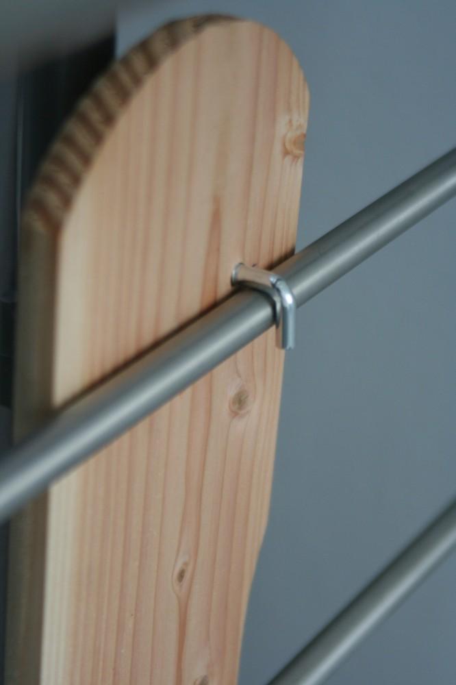 2x schraubhaken montagezubeh r f r paravent flexi zur erh hung der stabilit t bei wind. Black Bedroom Furniture Sets. Home Design Ideas